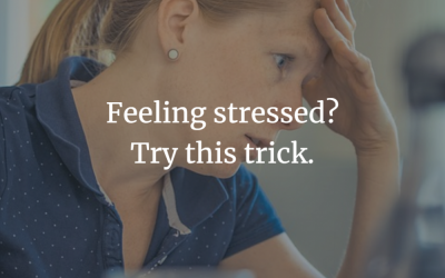 Feeling stressed? Try this trick