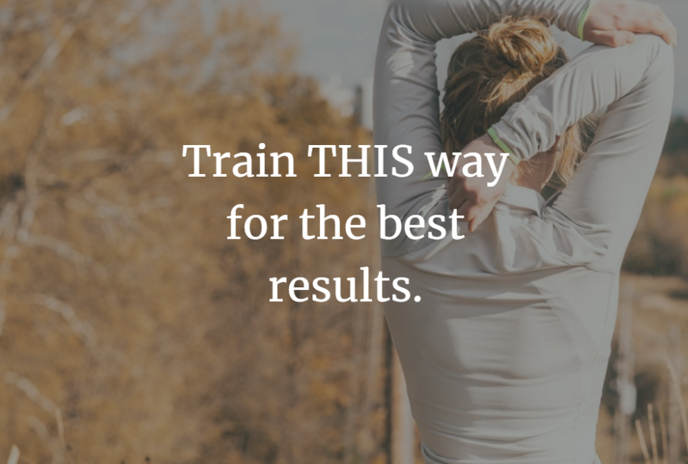 Train THIS way – with good posture