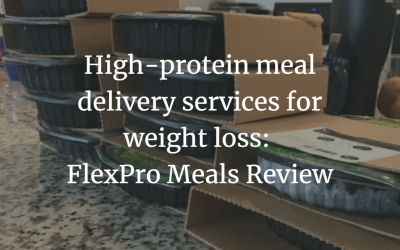 High-protein meal delivery services: FlexPro Meals Review