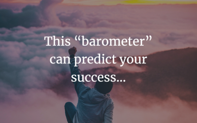 """This """"barometer"""" can predict your success…"""