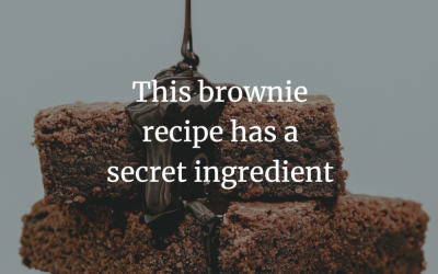This brownie recipe has a secret ingredient