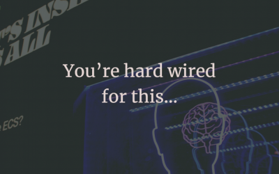 You're born to move and hardwired for this…