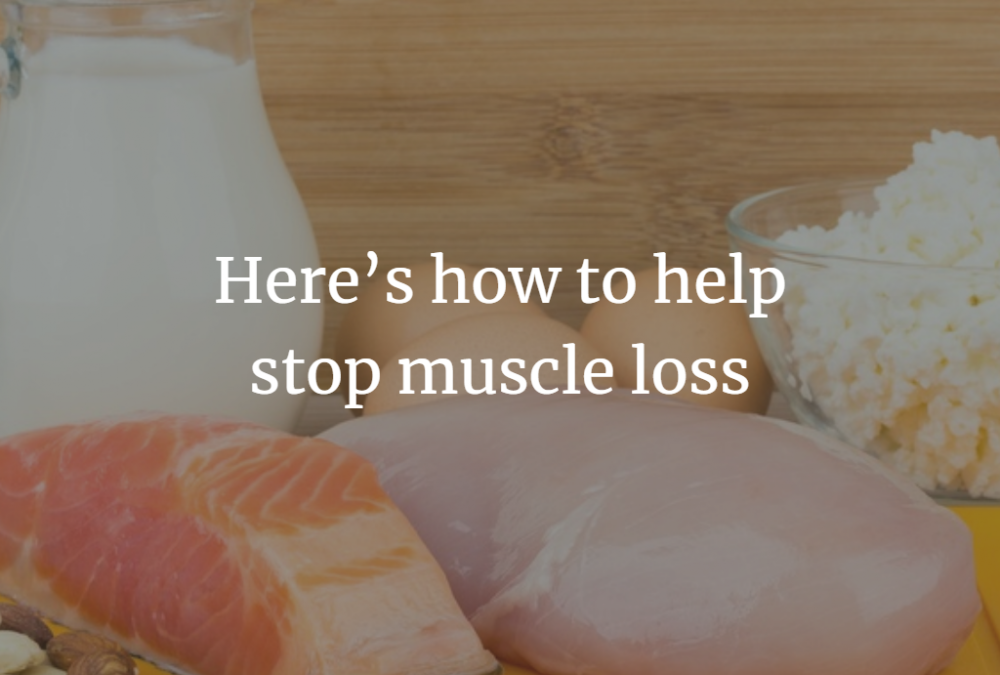 stop muscle loss