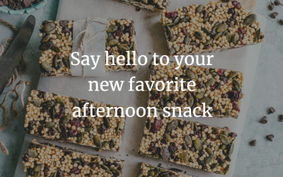 Say hello to your favorite afternoon snack