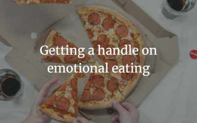 Getting a handle on emotional eating